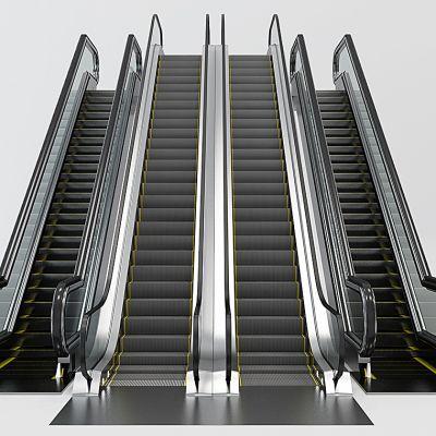 现代滚梯电梯扶梯