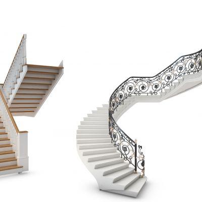欧式楼梯铁艺