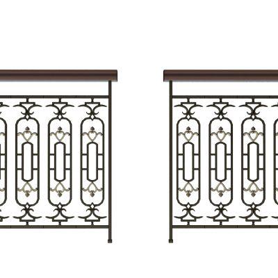 现代铁艺护栏