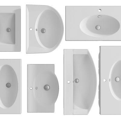 现代台面方盆组合洗手盆