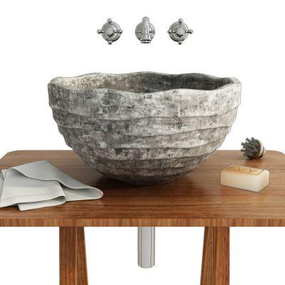 现代石雕台盆洗手台
