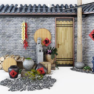 中式农家院农家乐
