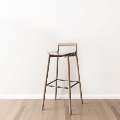 现代单人吧椅