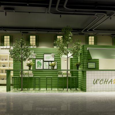 北欧甜品店模型