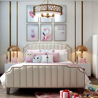 儿童床公主房儿童玩具抱枕