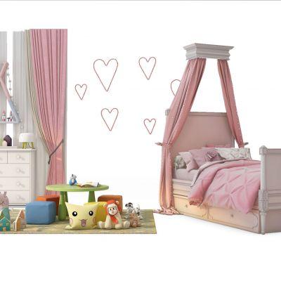 儿童床公主房