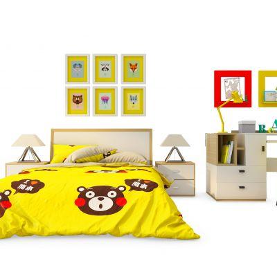 现代儿童床