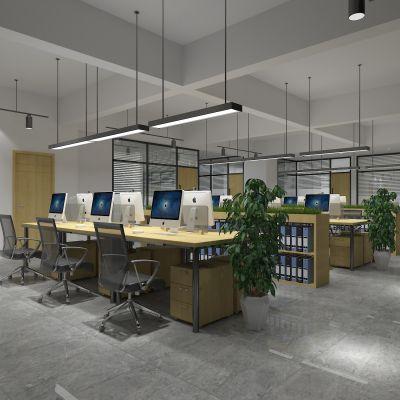办公室,办公桌,办公大厅