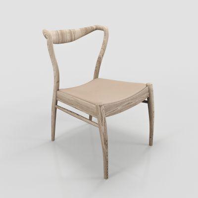 现代休闲椅单椅模型