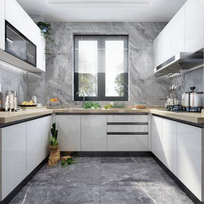 现代风格厨房橱柜3D模型