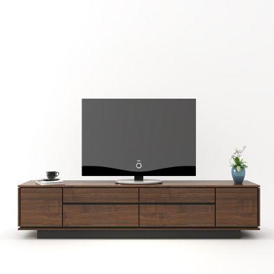 现代中式套色电视柜饰品3D模型