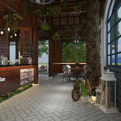 特色咖啡厅3D模型