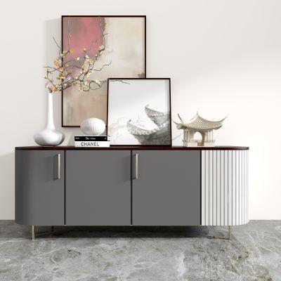 新中式装饰柜3D模型