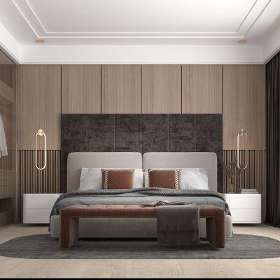 现代风格的卧室3D模型