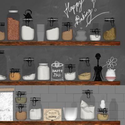 厨房用品3D模型