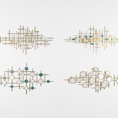 现代装饰墙饰3D模型