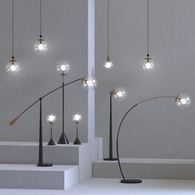 现代落地灯3D模型