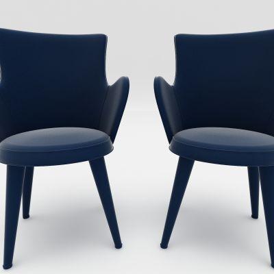 现代风格沙发3D模型