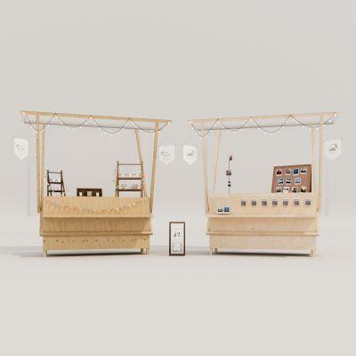 购物活动车3D模型