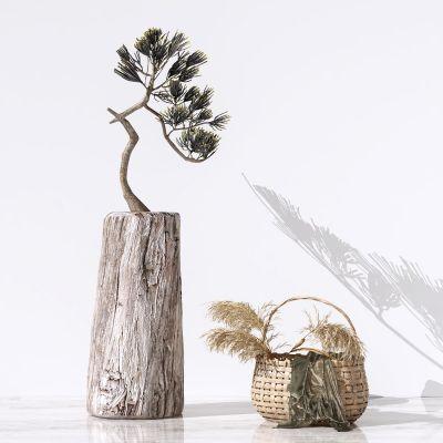 新中式植物盆栽摆件3D模型