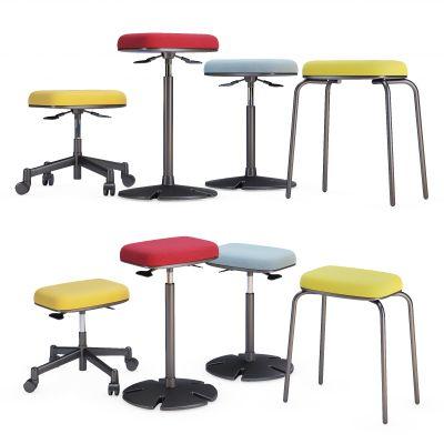 现代升降吧椅 吧椅 椅子 座位 凳子 升降凳3D模型