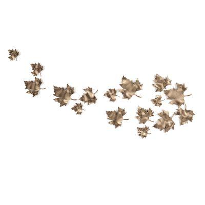 现代叶子装饰墙饰3D模型