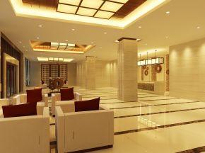简约现代酒店大堂