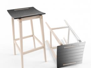 实木高脚吧台凳子椅子