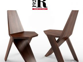 实木板设计款单人椅子
