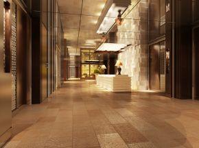 宾馆酒店大厅前台