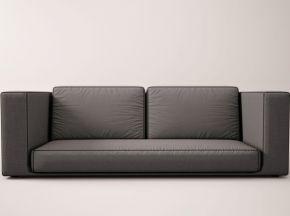简约风格布艺双人沙发