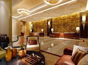 现代酒店大厅
