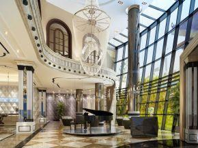 现代风格售楼处大厅