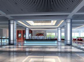 现代售楼处大厅