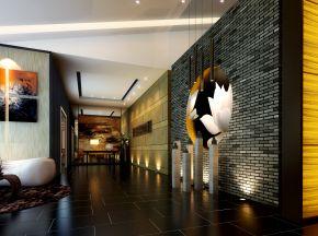 新中式售楼处前台/大厅休息区
