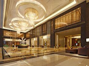 五星级酒店大堂