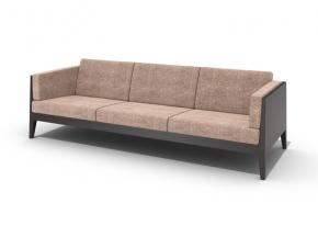 现代布艺三人沙发
