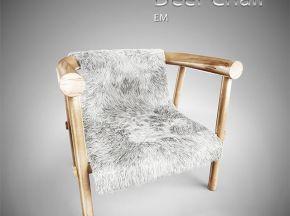 中式实木单人椅子