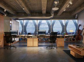 工业风办公室