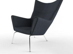 现代布艺单人休闲椅