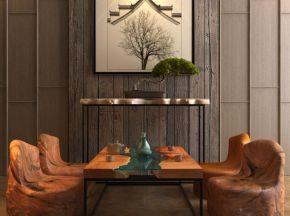 中式茶几桌椅组合