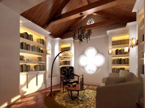 美式乡村书房