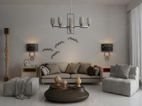 现代简约沙发茶几组合