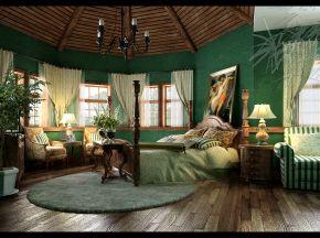 美式田园卧室