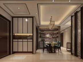 新中式客厅餐厅