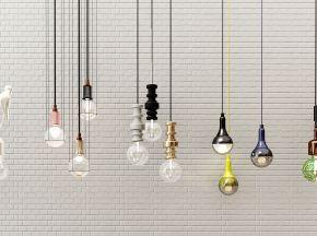 现代北欧吊灯组合