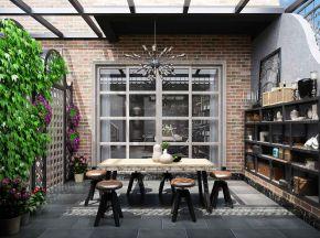工业风 地下茶室