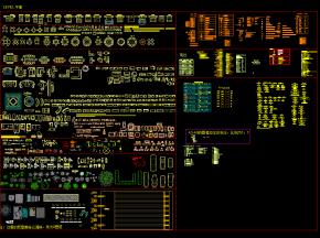 CAD最新平面图块