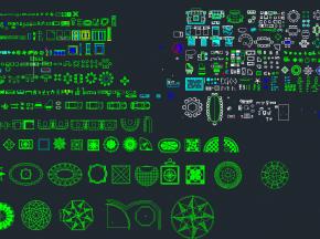 CAD素材施工图
