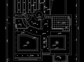 别墅现代风格施工图